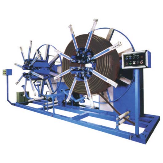 Extruded Hoop Coiler