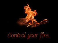 Control your fire... uploaded by Benaglis