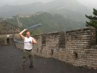 LazyAngel¬Hyperloop cones on the Great Wall uploaded by LazyAngel