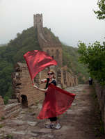 Great Wall Flags, China uploaded by Dexta