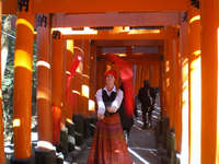 Fushimi Inari Shrine, Kyoto, Japan uploaded by Rouge Dragon