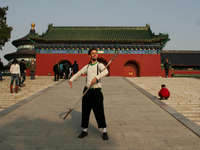 Antti | Art of posing | Temple of Heaven Park, Beijing, China uploaded by Antti_Everything