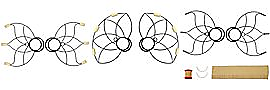 Small Lotus Fire Fans