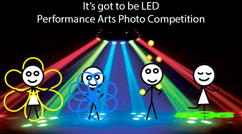 It's got to be LED - Performance Arts Photo Competition