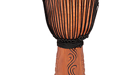 Pro Series Djembe Drum 'Horn of War' L-24 inch