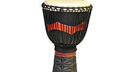 Pro Series Djembe Drum 'Dark African' L-24 inch