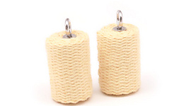 Pair of 2.5inch (65mm) Mura Stitched Roll Fire Heads