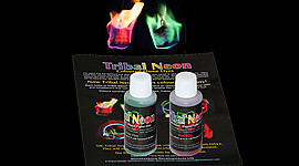 Pack of Colored Flame Additive