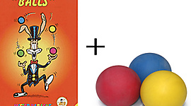 2.5 Inch Beginner Juggling Set with Lessons