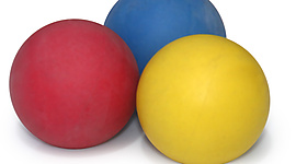 63mm (2.5inch) Beginner Juggling Ball Set