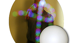 Single 5.7oz (165g) LED Glow Juggling 2 3/4 Inch (70mm) Ball