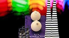 Pair of Jailhouse Selectable Colour LED Glow Sock Poi