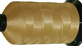 Large cone Kevlar (R) sewing thread