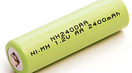 Rechargeable AA Battery NI-MH 2400mAh