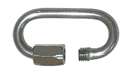 Single 1/8 Inch (3mm) Stainless Steel  Oval Quicklink
