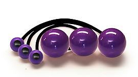 Set of 3 Poi with 3.15 Inch (80mm) Balls