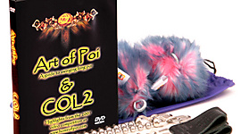 Bonus: DVD - Art of Poi/COL2 and Pair of Ball Chain Fluffy Poi