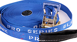 Pro Series Blue Slackline 1.5inch x 50ft (37mm x 15m)