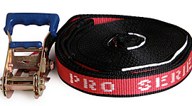 Pro Series Red Slackline 1.5inch x 32ft (37mm x 10m)