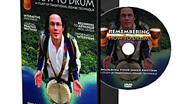 DVD Remembering How to Drum
