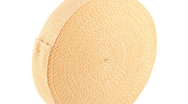 100 ft (30m) roll of 2.5 x 1/8 inch (65mm x 3.2mm) Kevlar ® Wick