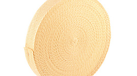 100 ft (30m) roll of 2 x 1/8 inch (50mm x 3.2mm) Kevlar ® Wick