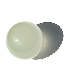 Acrylic Contact Juggling Ball 2 9/16 Inch (65mm) - Glow in the Dark