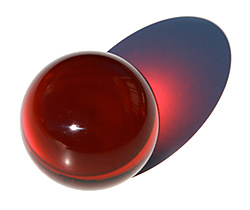 Acrylic Contact Juggling Ball Color - 2 9/16 Inch (65mm)