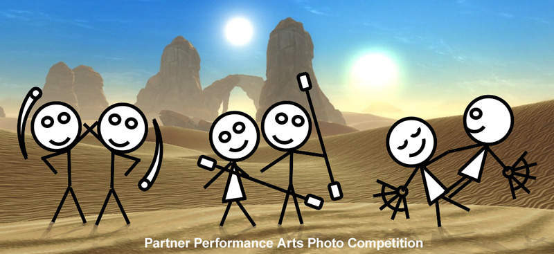 Partners - Performance Art Photo Competition