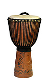 Pro Series Djembe Drum 'Horn of War' M-20 inch