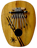 Karimba - Wooden Oval
