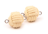 Pair of Intermediate 2.5 inch (65mm) monkey fist rope wicks|Pair of Intermediate 65mm (2.5 Inch) monkey fist rope wicks