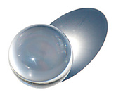 Acrylic Ball 2 9/16 Inch (65mm) - Clear|Acrylic Ball 65mm (2 9/16 Inch) - Clear