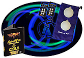 Multi-Color LED Poi Set with Nylon Cords and Art of Poi DVD|Multi-Colour LED Poi Set with Nylon Cords and Art of Poi DVD