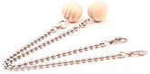 Pair of Ball Chain Cords with Wooden Knob Handles