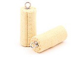 Pair of 4 inch (100mm) Mura Stitched Roll Fire Heads|Pair of 100mm (4 Inch) Mura Stitched Roll Fire Heads