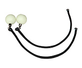 Pair of replacement Ninja Cords with Glow Ball Handles