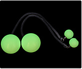 Pair of Wrapsta 3.15 Inch (80mm) Glow Poi|Pair of Wrapsta 80mm (3.15 Inch) Glow Poi
