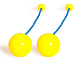 Pair of Flex Pendulum Poi with 3.15 Inch (80mm) Balls - PX3|Pair of Flex Pendulum Poi with 80mm (3.15 inch) Balls - PX3
