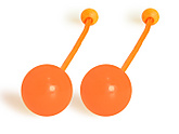 Pair of Pendulum Contact Poi with 3.15 Inch (80mm) Balls - PX3|Pair of Pendulum Contact Poi with 80mm (3.15 inch) Balls - PX3