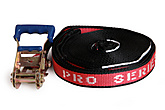 Pro Series Red Slackline 1.5inch x 32ft (37mm x 10m)| Pro Series Red Slackline 37mm x 10m (1.5inch x 32ft)