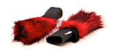 Pair of Fire Head Covers Large - Poi