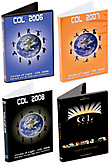 DVDs - COL2006, COL2007, COL2008 and COL2009 Inspirational Video Collections