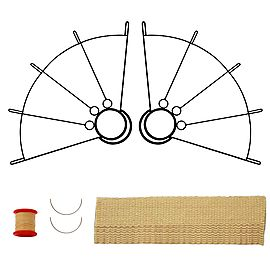Large Ring Fan Kit - Make Your Own