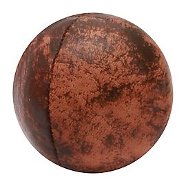 Leather 63mm 4 Panel Copper Juggling Ball