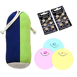 Multi-Function LED Three Juggling Ball Set with Carry Bag