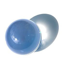 Acrylic Contact Juggling Ball 3 inch (75mm) Clear UV