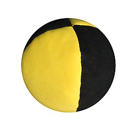 juggling of roberband, 2.5inch 4 Panel Suede Juggling Ball