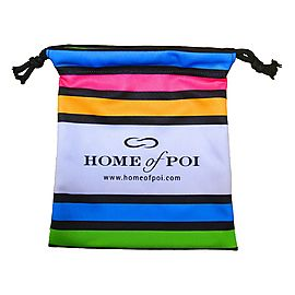 Stripey Soft Poi Bag