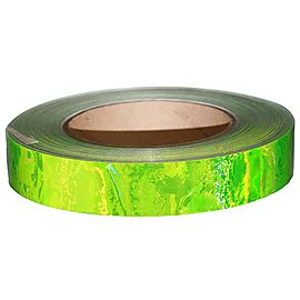 30 foot (10m) Length of 1 Inch (25mm) Liquid Effect Holographic Tape
